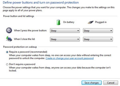 define_power_buttons_and_turn_on_password_protection