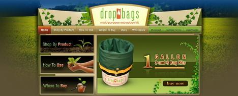 dropbags_best_green_themed_website