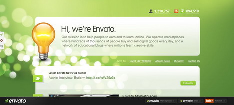 envato_best_green_themed_website