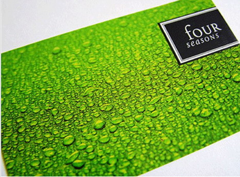 four_seasons_business_card_design