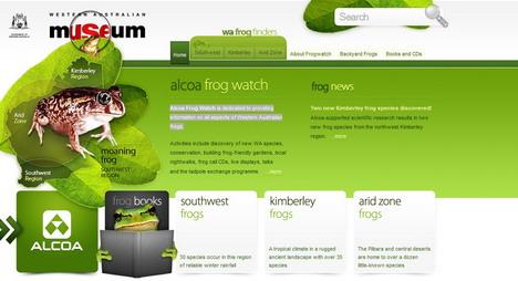 frogwatch_best_green_themed_website