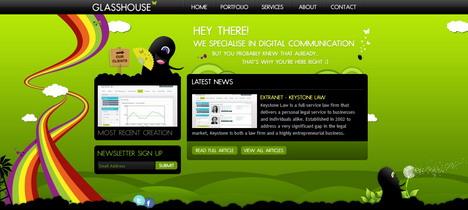 glasshouse_best_green_themed_website