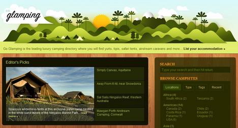 go_glamping_best_green_themed_website