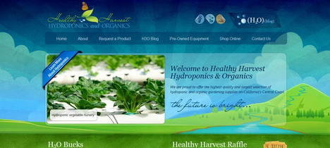healthy_harvest_hydroponics_and_organics_best_green_themed_website