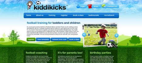 kiddikicks_best_green_themed_website