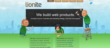 lionite_green_inspired_web_design