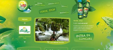 lipton_green_tea_green_inspired_web_design