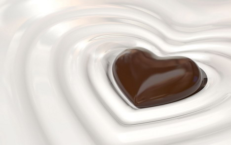 love_shape_chocolate_wallpaper_2
