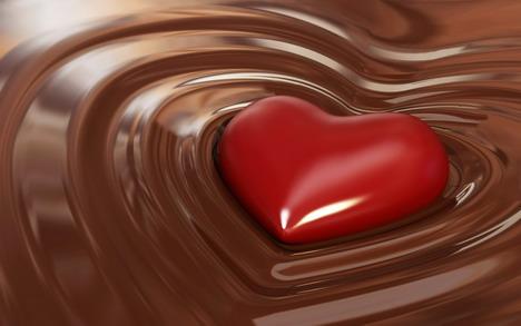 love_shape_chocolate_wallpaper_4