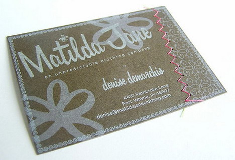 matilda_jane_clothing_business_card_design