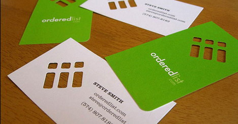 orderedlist_business_card_design