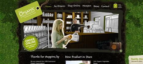 organic_food_ireland_green_inspired_web_design
