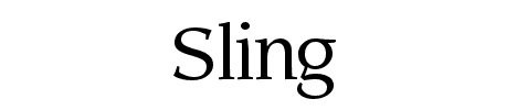 sling_light_font_top_50_best_fonts_for_web_design
