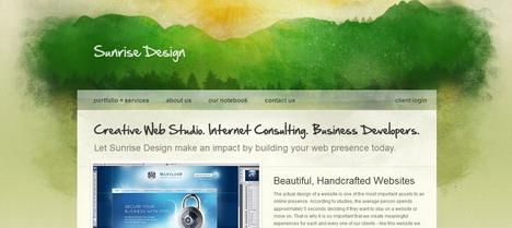 sunrise_design_green_inspired_web_design