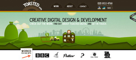 toasted_digital_green_inspired_web_design