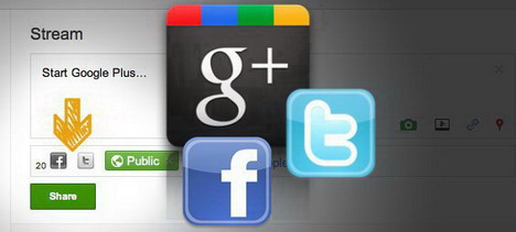 update_facebook_twitter_and_google_plus_at_the_same_time