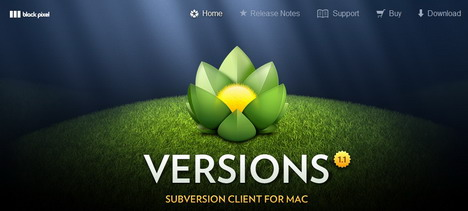versions_mac_subversion_client_svn_green_inspired_web_design