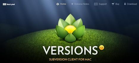 versions_mac_subversion_client_svn_green_inspired_web_design