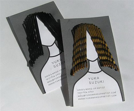 yuka_suzuki_hair_grip_holder_business_card_design