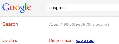 anagram_best_google_tricks_and_easter_eggs