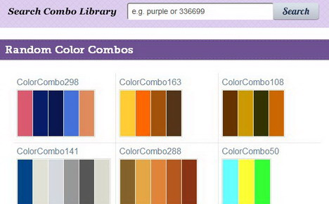 Web page color combinations murderthestout for Web page color palette