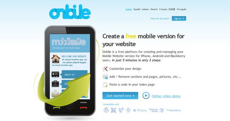 onbile_best_tools_to_convert_website_and_blog_for_mobile_phones