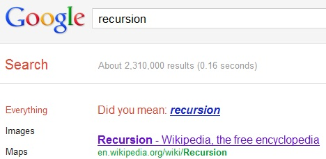recursion_best_google_tricks_and_easter_eggs