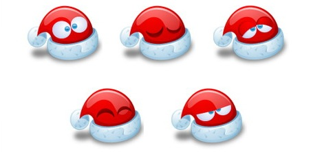santa_claus_hat_emoticons_best_free_christmas_icons_sets