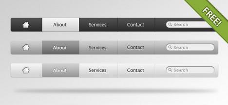 apple_style_navigation_menu_best_web_design_starter_kits