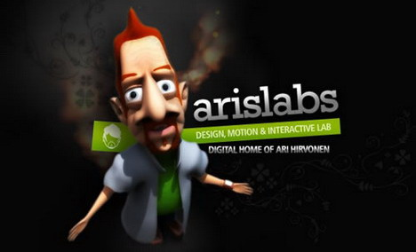 aris_labs_best_3d_flash_websites