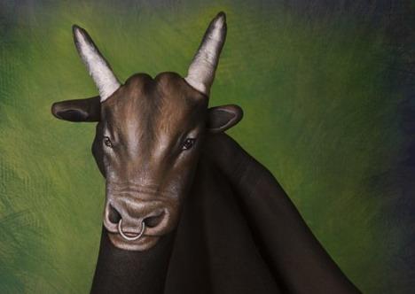 bull_best_animal_hand_painting