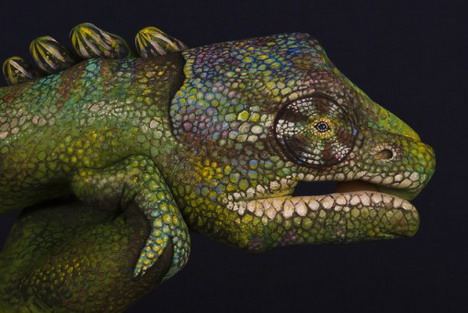 chameleon_best_animal_hand_painting
