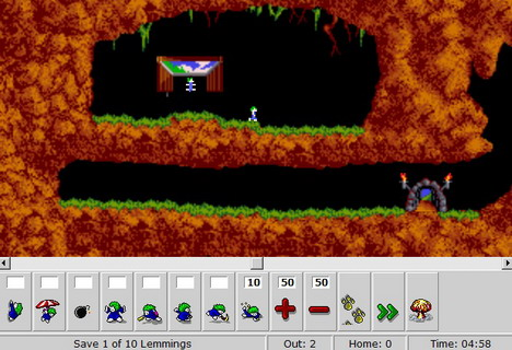 dhtml_lemmings_best_html5_online_games