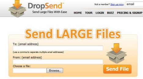 dropsend_best_online_file_sharing_sites