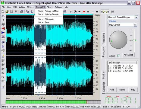 expstudio_audio_editor_best_free_digital_audio_editors