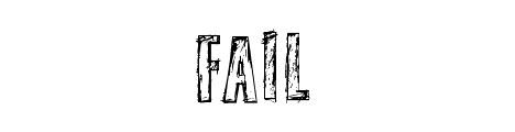 fail_beautiful_free_hand_drawn_fonts