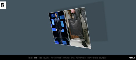 fendi_best_3d_flash_websites