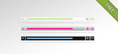 free_psd_media_player_best_web_design_starter_kits