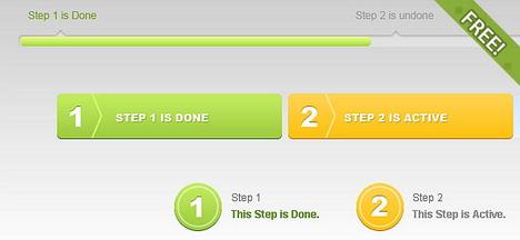 free_psd_progress_tracker_bars_best_web_design_starter_kits