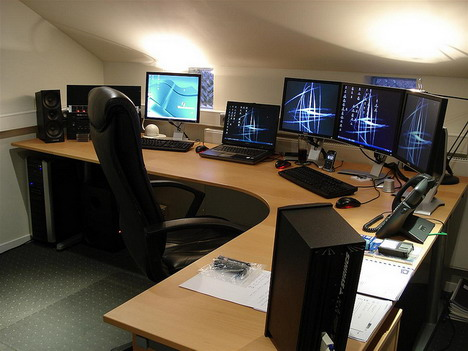 55 most impressive computer workstation setups quertime