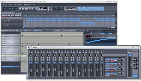 hydrogen_best_free_digital_audio_editors