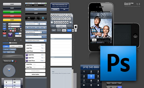 iphone_gui_psd_best_web_design_starter_kits