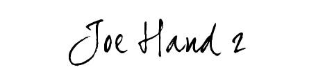 joe_hand_2_beautiful_free_hand_drawn_fonts