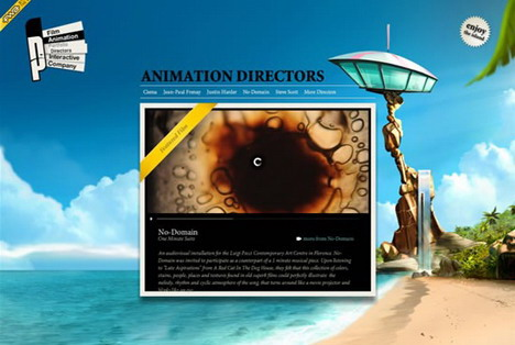 parasol_island_best_3d_flash_websites