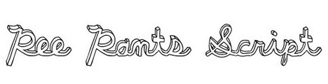 pee_pants_script_popular_free_hand_drawn_fonts