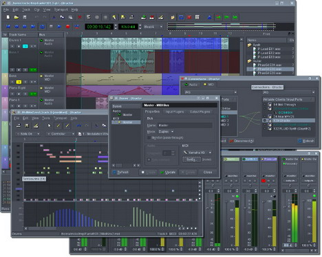 qtractor_best_free_digital_audio_editors