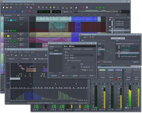 qtractor_best_free_digital_audio_editors
