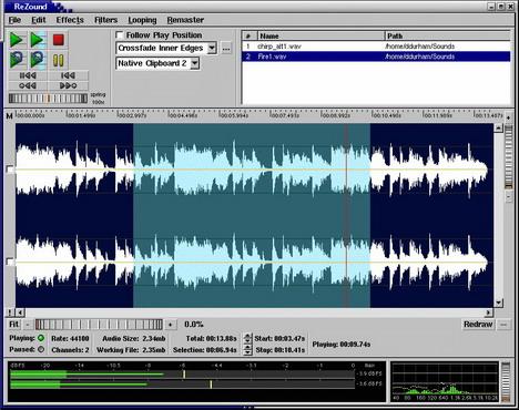 rezound_best_free_digital_audio_editors