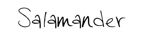 salamander_popular_free_hand_drawn_fonts