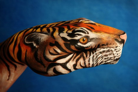 tiger_best_animal_hand_painting